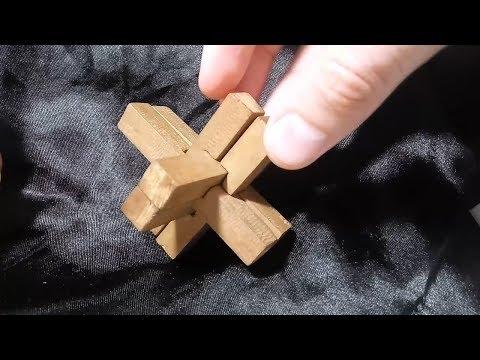 Сборка головоломки двойной Крест 3D (головоломка адмирала Макарова)