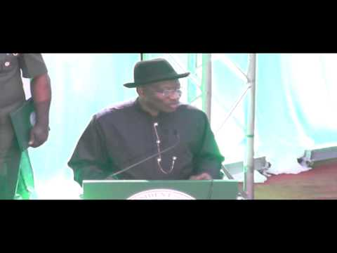President Jonathan Inaugurates 2014 National Conference