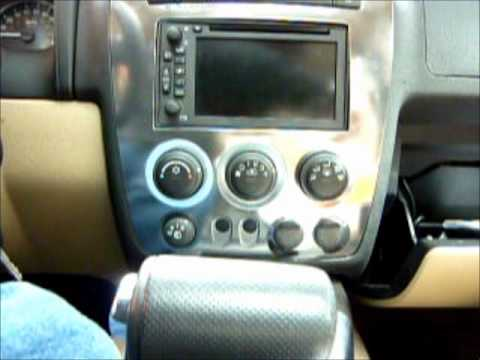 Installing Auxiliary Input On A 2007 Hummer H3 Part 3