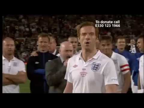 Damian Lewis Penalty Shot at Soccer Aid 2010