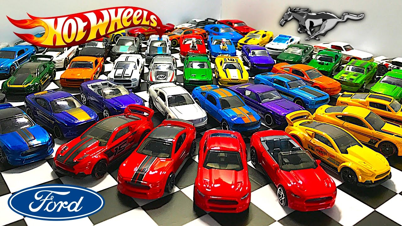 ford mustang hot wheels collection youtube. Black Bedroom Furniture Sets. Home Design Ideas