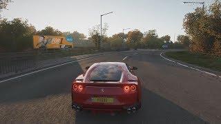 Forza Horizon 4 - 2017 Ferrari 812 Superfast Gameplay