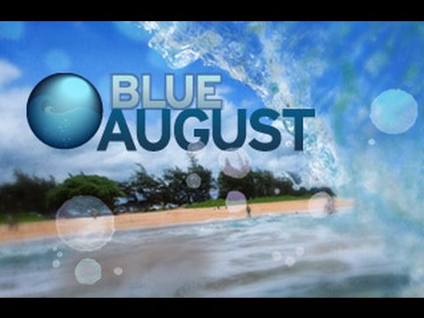 Blue August on Planet Green