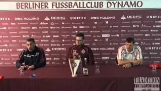 14. Spieltag BFC Dynamo - Berliner AK 07 Pressekonferenz 06.11.2015