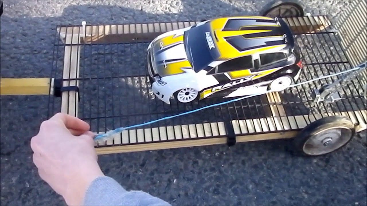 Rc e revo et remorque porte voiture latrax youtube for Porte voiture