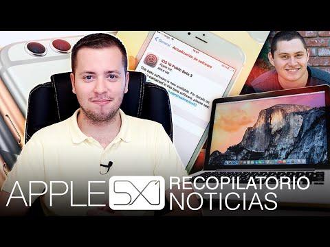Noticias: Filtración iPhone 7, nuevos MacBook según Mark Gurman, origen betas publicas de iOS