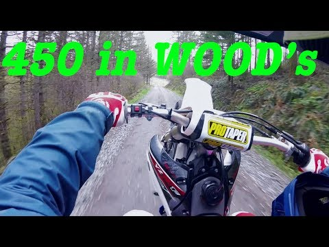 Dirt bike trip highlights fun hill climbs, 450 vs 250