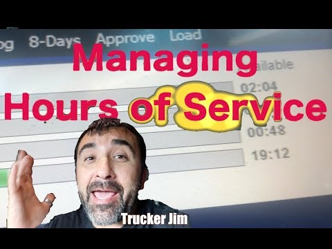 Managing Hours Of Service For Truck Drivers, Day 014