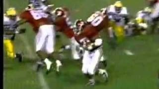 Alabama Crimson Tide Football Shaun Alexander Highlights