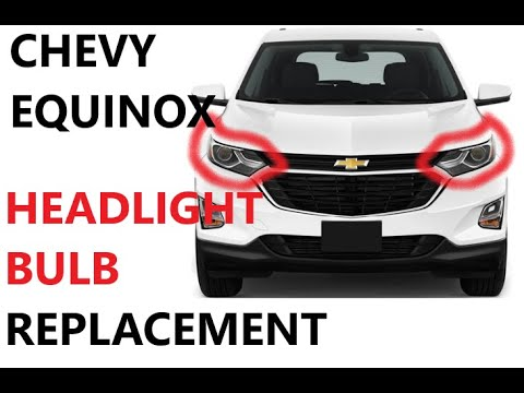 How To Replace Headlight Bulbs Hid On 18 22 Chevy Equinox