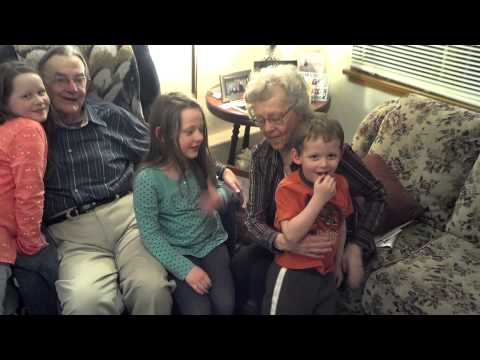 Pic with Grandpa and Grandma VK