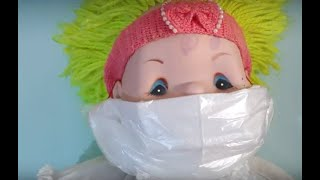 Ev Yapımı Corona Virüs Maskesi Nasıl Yapılır? | Make own mask at home (English subtitle)