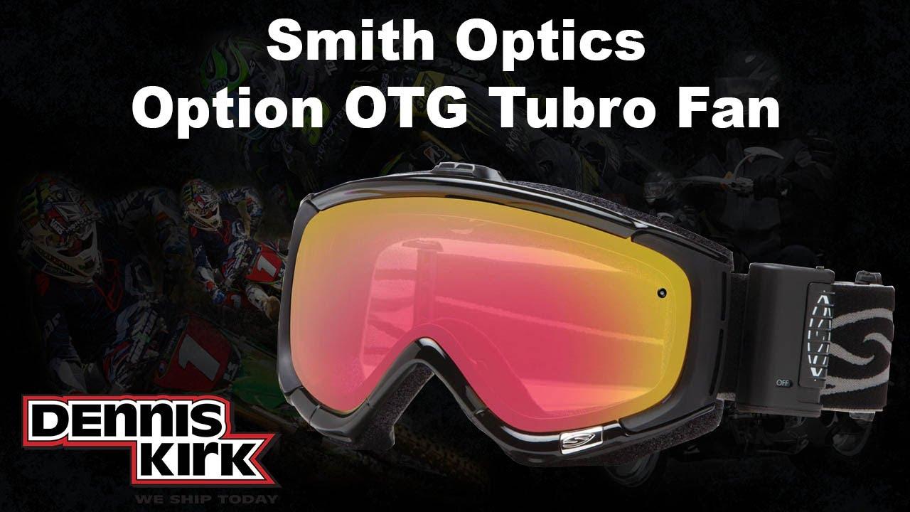 9b2bc6c9921 Smith Optics Option OTG TURBO FAN - YouTube