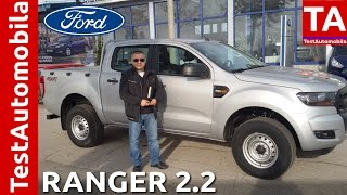 Ford RANGER T6 2.2 TD 160 KS 4x4 - Revijalni video