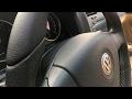 VW GOLF V TAPIZADO VOLANTE Y RESTAURACION ASIENTOS