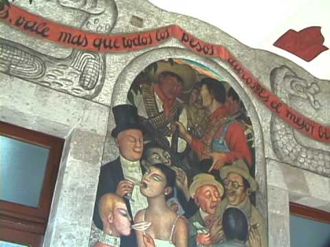 Diego Rivera Murales Mexico D F Youtube