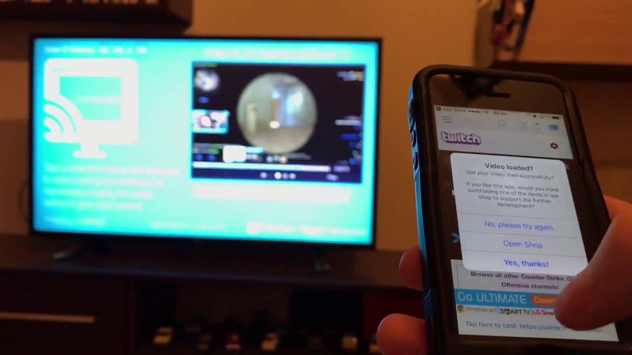 Cast Tv Channels Watch Twitch On Lg Smart Tv Using Only You Phone And Lg Cast App