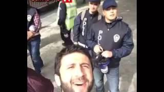 Taksim'de Polisleri Çıldırtan Genç 31.05.2014