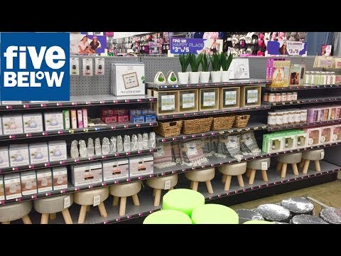 FIVE BELOW SPRING HOME DECOR ROOM DECORATIONS SHOP WITH ME SHOPPING STORE WALK THROUGH 4K