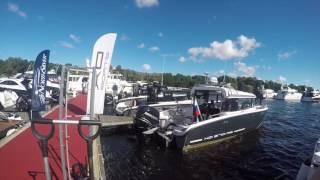 Катера из алюминия XO Boats на выставке SPIBS 2016 | Алюминиевые катера купить в России