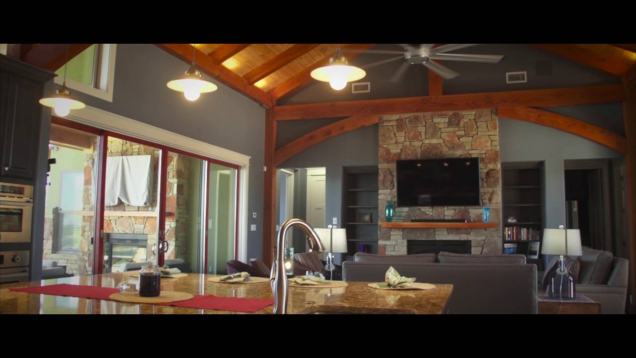 Texas Timber Frames – Contemporary Lake Travis Home - YouTube