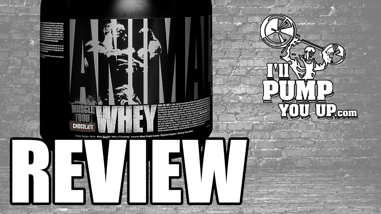 Universal Nutrition -Animal Whey Supplement Review & Taste ...
