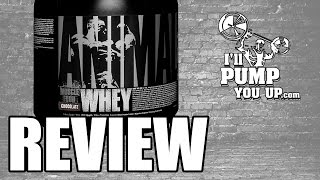 Universal Nutrition -Animal Whey Supplement Review & Taste Test