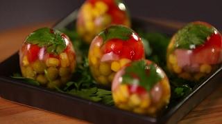 Рецепт недели — заливные яйца