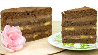 "Безумно вкусный торт 🍫""Шоколад-Банан""🍌- Я - ТОРТодел!"