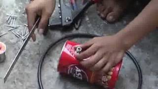 antena kaleng