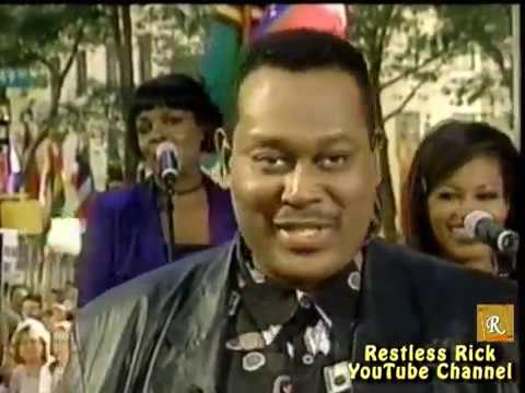Luther Vandross RARE 1998 Summer Concert & Interview