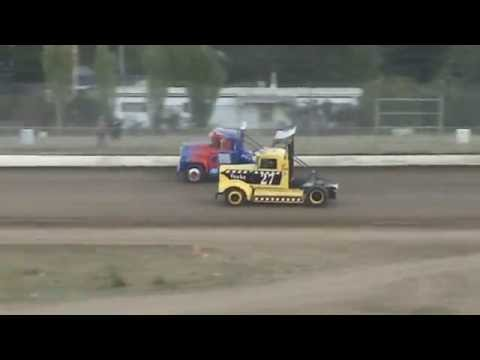 Grays Harbor Raceway, August 20, 2016, Rolling Thunder Big Rigs Heat Races 1 and 2