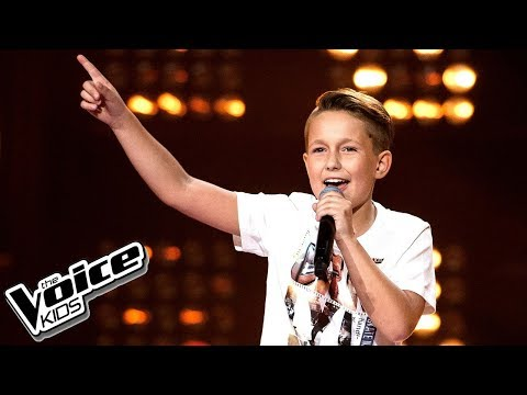 Olivier Woźnicki - 'Marry You' - Przesłuchania w ciemno - The Voice Kids 2 Poland