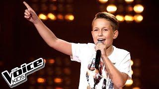 """Olivier Woźnicki - """"Marry You"""" - Przesłuchania w ciemno - The Voice Kids 2 Poland thumbnail"""