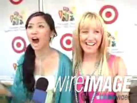 Ashley Tisdale & Brenda Song Interview