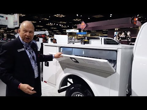 Knapheide service body for the 2019 Ford Ranger