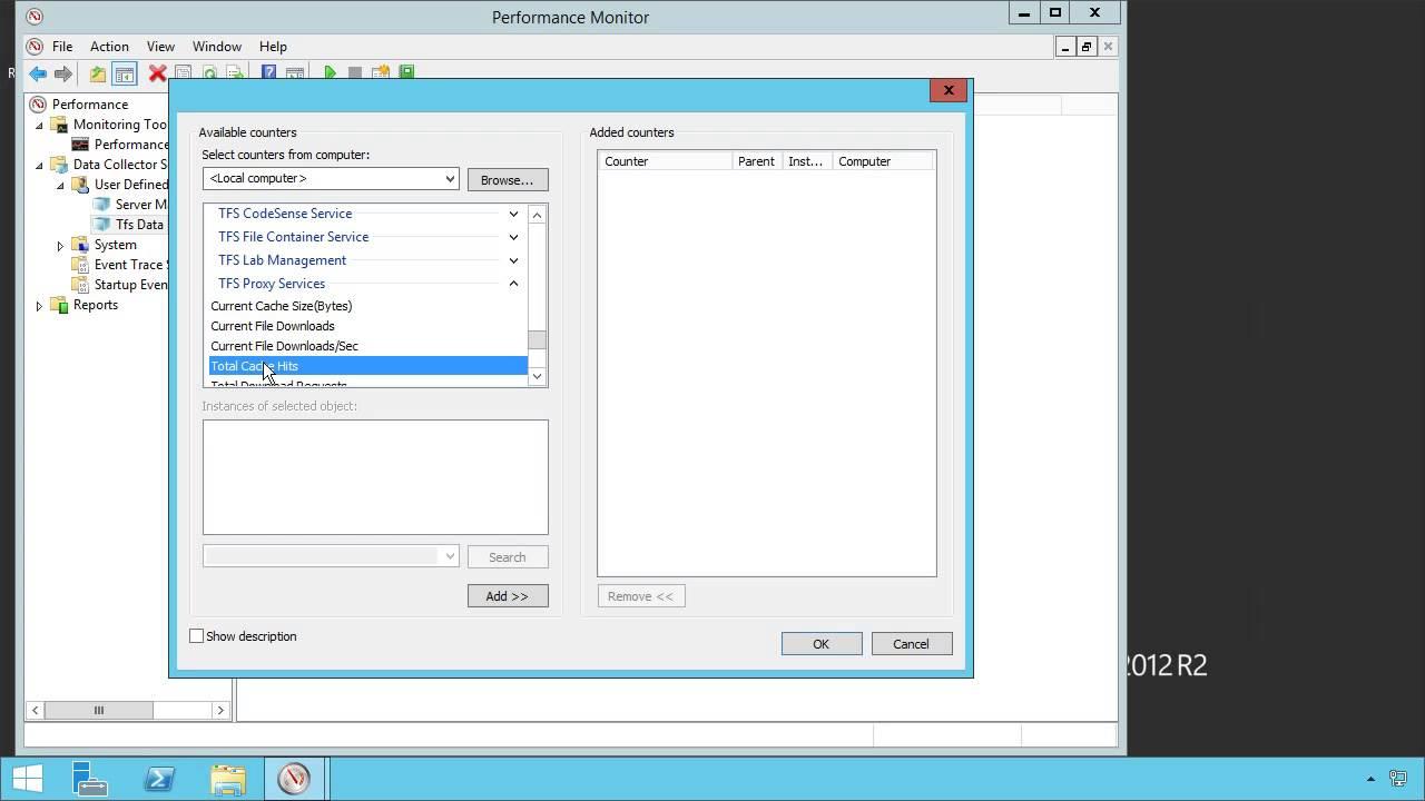 Microsoft Team Foundation Server 2013: Performance Monitor