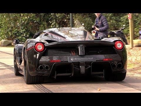 Ferrari Laferrari Aperta Loud Revs Engine Sounds Youtube