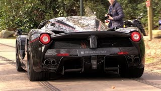 Ferrari LaFerrari Aperta - LOUD Revs & Engine Sounds!