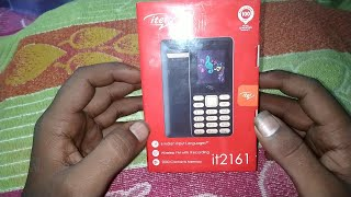 #MKSMobile Unboxing Itel it-2161 ! By M.K.S. Mobile