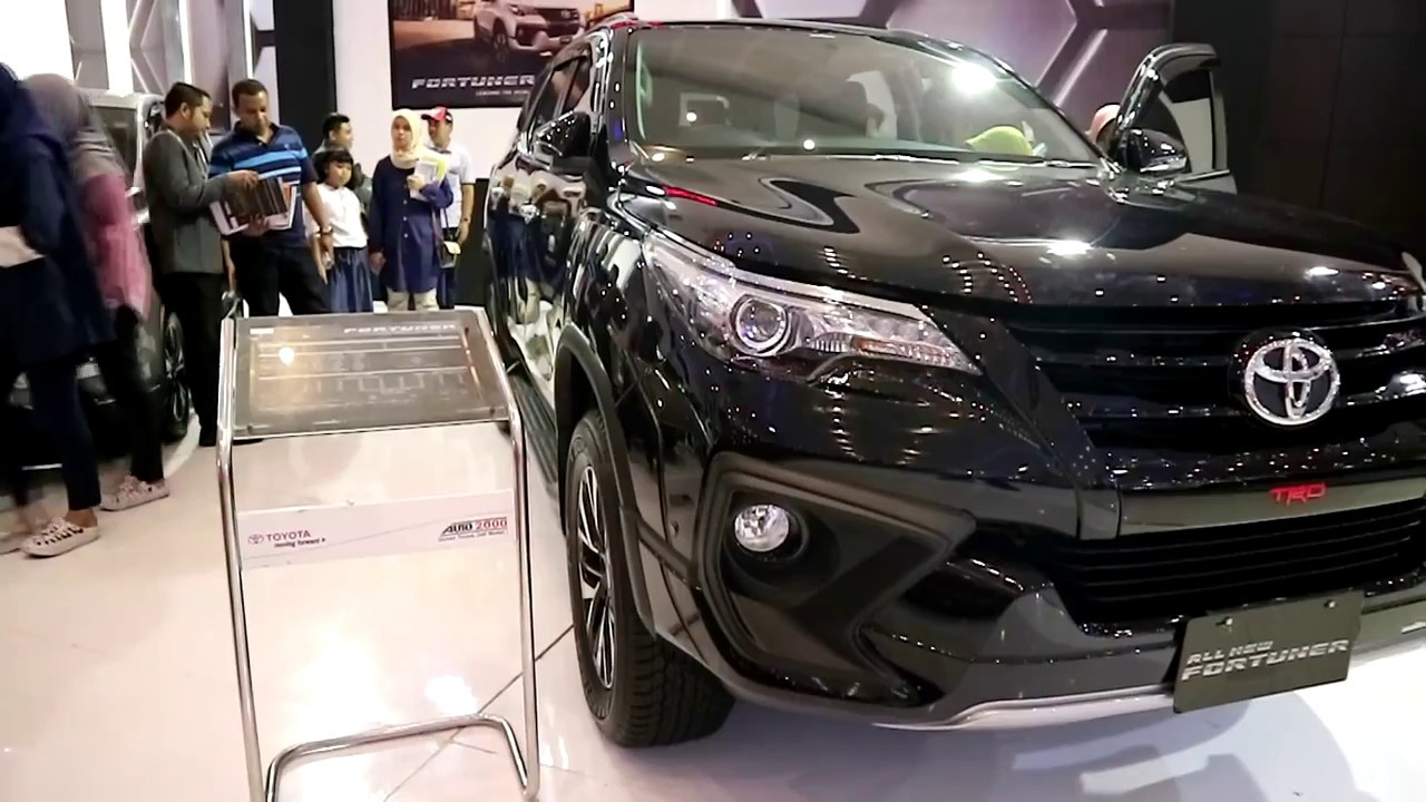 New Toyota Fortuner Trd Sportivo 2018 Exterior And Interior Youtube