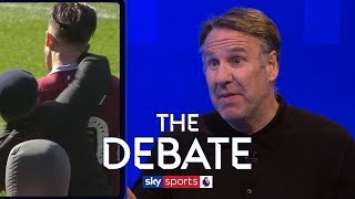 Should clubs be punished for fans attacking players? | The Debate | Paul Merson & Dion Dublin