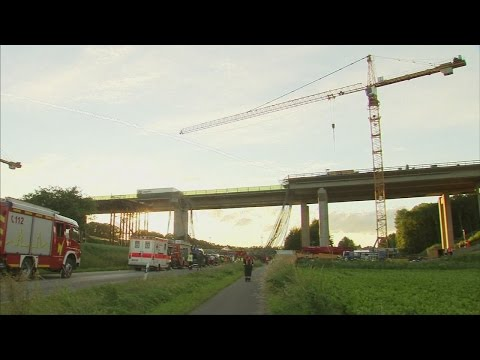 Construction worker dies as bridge collapses in Germany