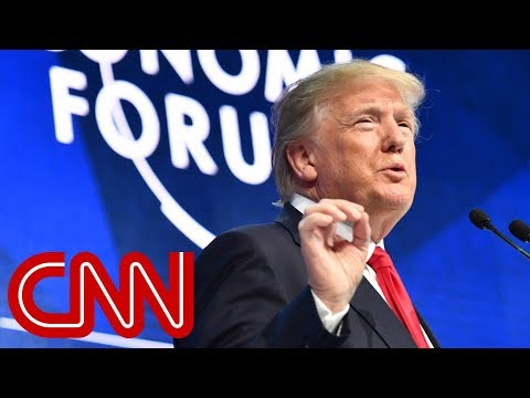 President Trump in Davos: America is open for business