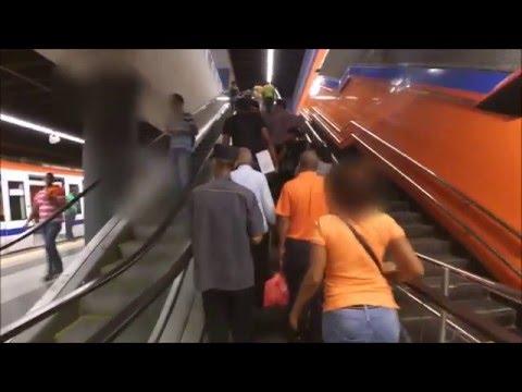 Probando la Línea 2B, Metro de Santo Domingo