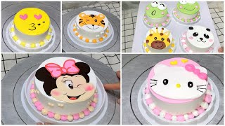 Cách làm bánh kem chuột Mickey và Mèo Hello kitty - How to make Mickey and Hello kitty ransom cake