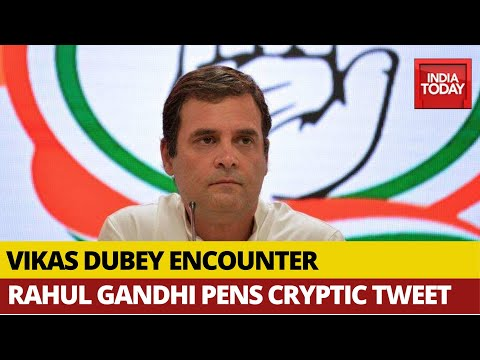'Silence Is Better Than Many Answers': Rahul Gandhi's Cryptic Tweet On Vikas Dubey's Encounter