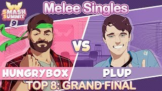 Hungrybox vs Plup - Top 8 GRAND FINAL: Melee Singles - Smash Summit 9 | Puff vs Fox