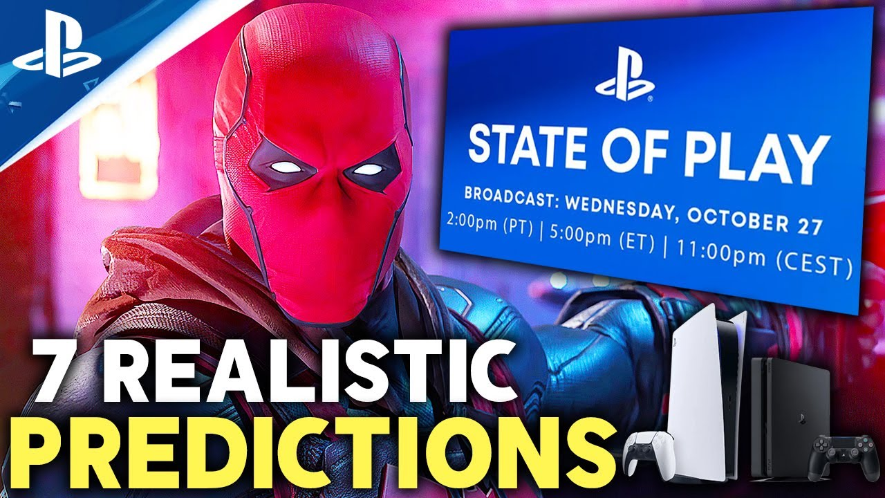 Download PlayStation State of Play October 2021 - 7 PS4/PS5 Games Predictions and Wants! State of Play 2021