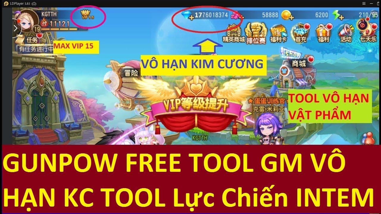 #1 Game Lậu Mobile 2020 Game Gunpow TOOL GM Miễn Phí 100% Free Tất Cả Và Đồ Full Vip Full KC Vô Hạn